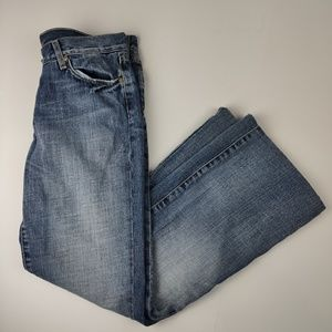 7 For All Mankind Flare Jeans *Hemmed*